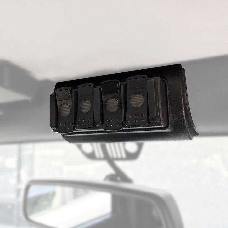 trigger controller jeep jk 4 channel remote mount