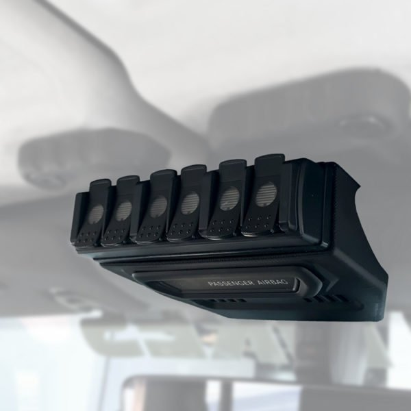 trigger controller jeep JL-JT 6 channel remote mount 2013-6
