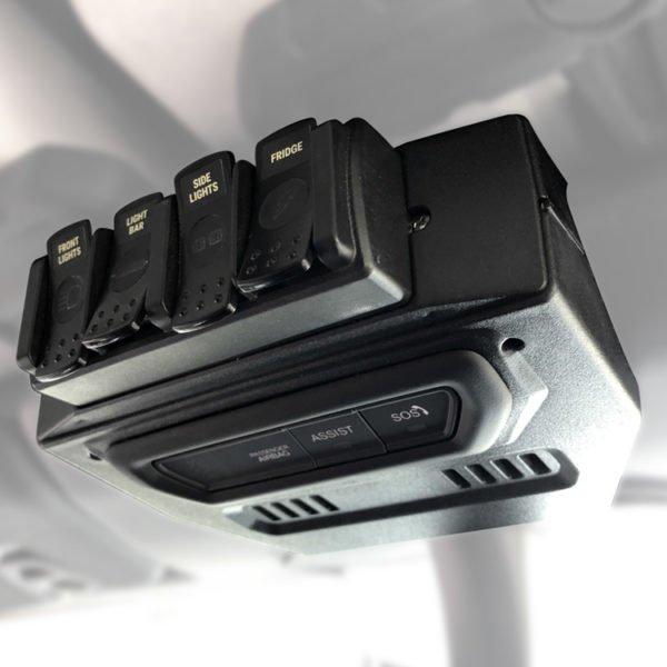 trigger controller jeep JL-JT 4 channel remote mount installed