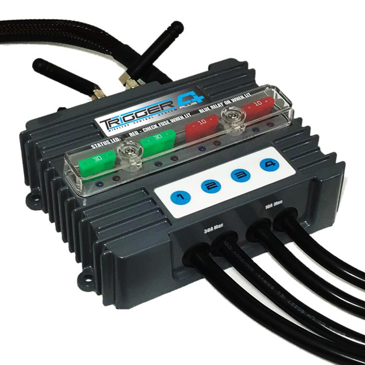 Trigger 4 Plus Controller Wireless Power Distribution Bluetooth Control